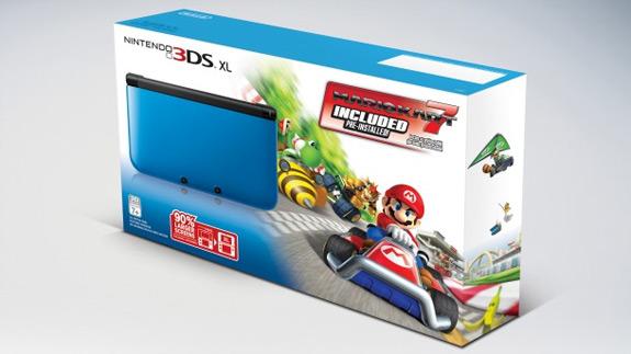 Noticias De Juegos Un Nuevo Pack De 3ds Xl Incluye Mario Kart 7