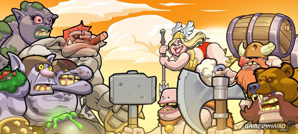 Trolls vs. Vikings se lanzará en iOS en Diciembre 2013, con versiones ...