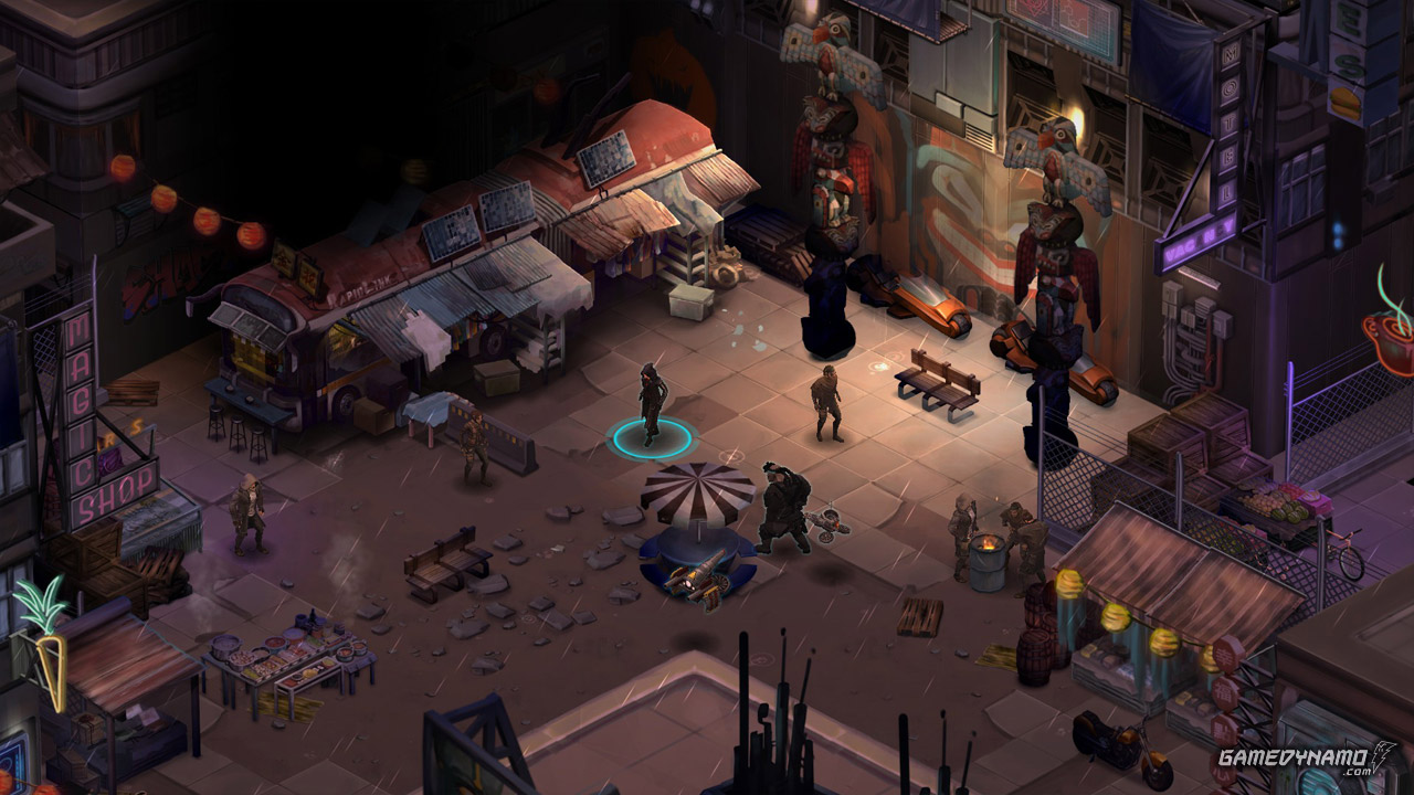 Shadowrun Returns(PC) Review Screenshots