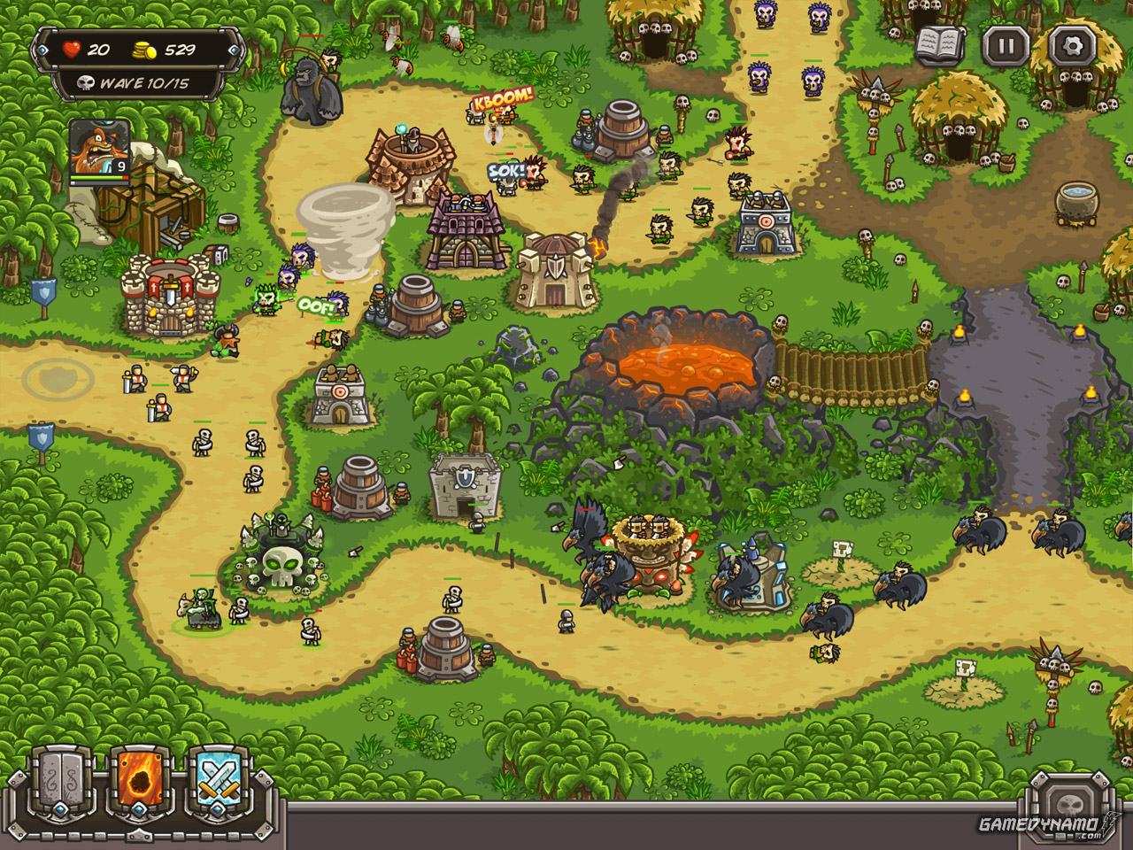 Kingdom Rush: Frontiers (Mobile) Review Screenshot
