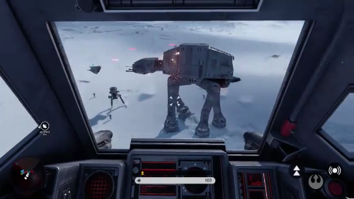 E3 2015 Walker Assault on Hoth